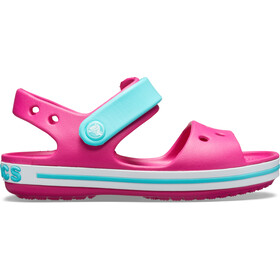Crocs Crocband Sandalias Niños, candy pink/pool